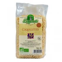 Lazzaretti - Coquillettes blanches Bio 500g