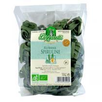 Lazzaretti - Rubans aux oeufs frais Bio Spiruline 250g