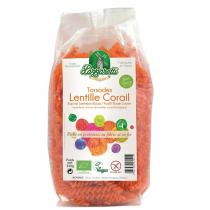 Lazzaretti - Torsades 100% aux lentilles corail Bio 250g