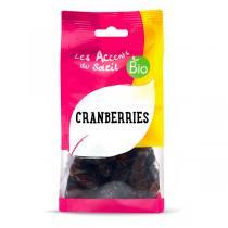 Les Accents du Soleil - Cranberries séchées sucre de canne 125g