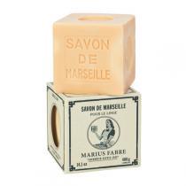 Marius Fabre - Savon Marseille blanc Brut 400g pour le linge