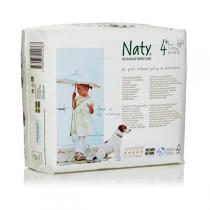 Naty by Nature Babycare - Naty Eco Nappies – Size 4+ Junior 9-20kg 20-44lb 30pcs