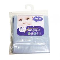 P'tit Lit - Magic Fitted Baby Sheet - Blue 70x140cm