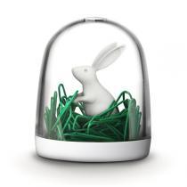 QUALY Design - Bunny Paper Clip Dispenser