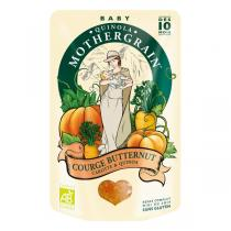 Quinola Mothergrain - Plat courge Butternut carotte quinoa bio dès 10 mois 190gr