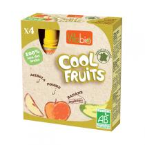 Vitabio - Compote Cool Fruits Pomme Banane 4x90g