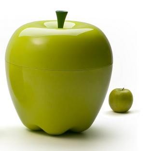 Qualy Design - Apple Green Dish 18 cm