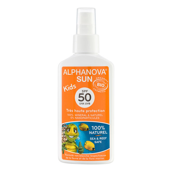 Alphanova - Kids Organic Spray Sunscreen SPF 50 125ml