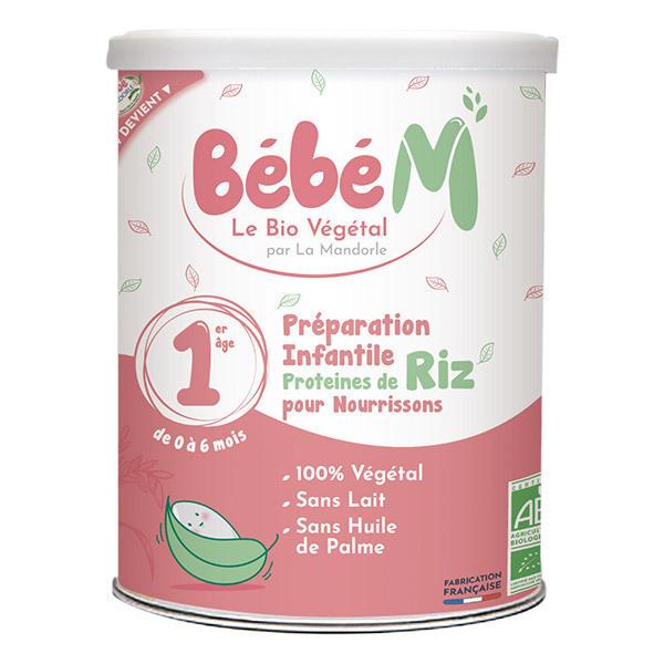 Bébé M - Préparation Riz pour nourrissons 1er âge 800g - De 0 à 6 mois
