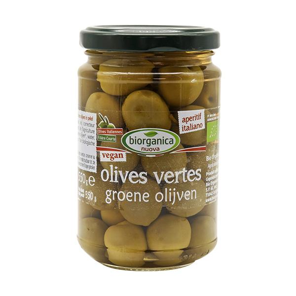 Biorganica Nuova - Olives vertes entières 280g