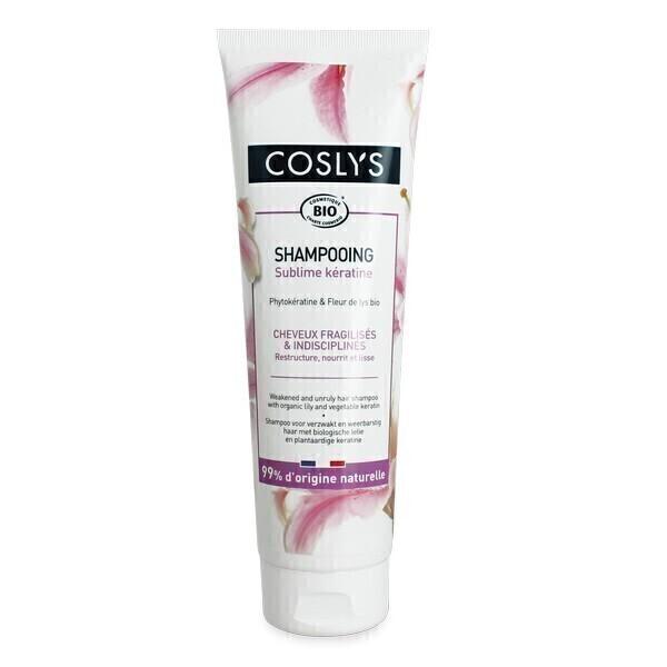 Coslys - Shampooing Kératine cheveux fragiles 250ml