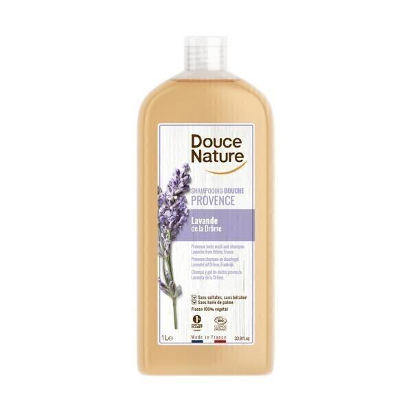 Douce Nature - Shampooing douche Provence lavande 1L
