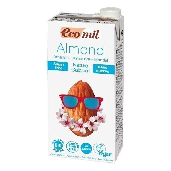 EcoMil - Leche Almendra Calcio 1L