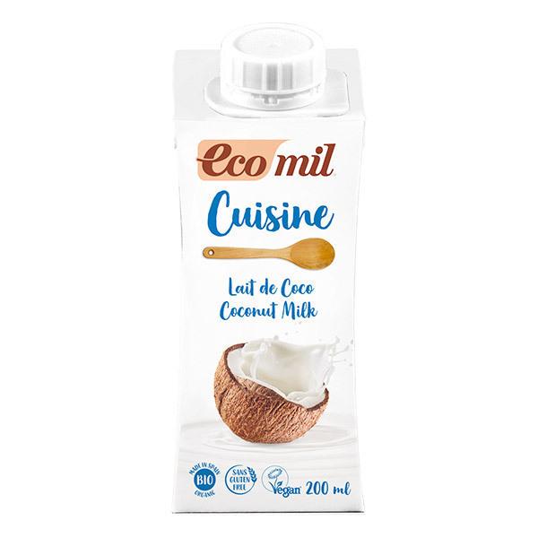 EcoMil - Préparation Cuisine Lait de Coco 200mL