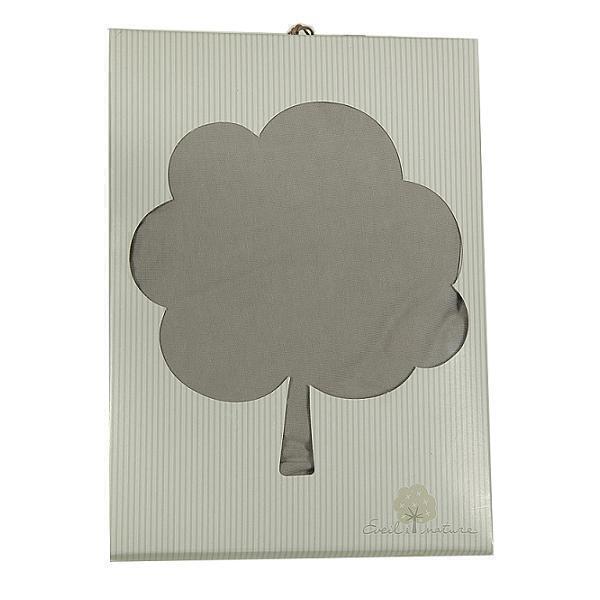 Eveil & Nature - Drap housse coton taupe 70x140cm