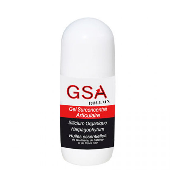 GSA Aquasilice - Gel Surconcentré Articulaire GSA Roll'On 40mL
