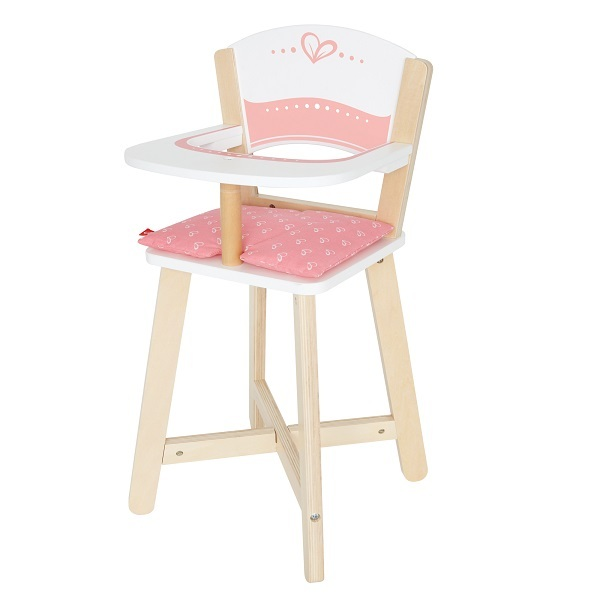 Hape - Chaise haute pour poupée - Dès 3 ans