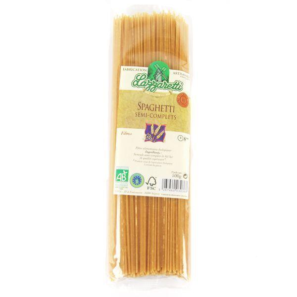 Lazzaretti - Spaghettis semi-complets Bio 500g