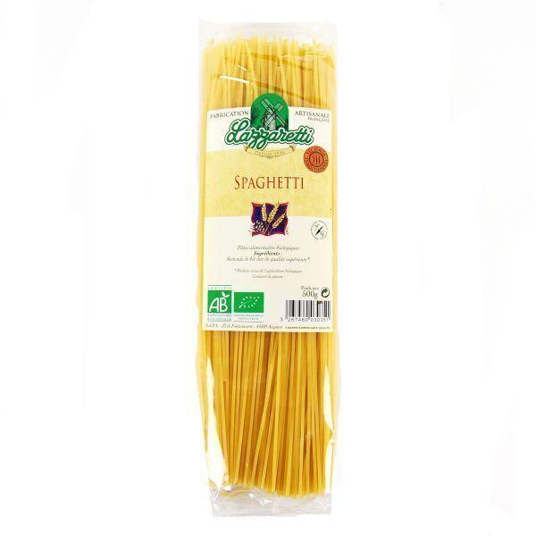 Lazzaretti - Spaghettis blanches Bio 500g