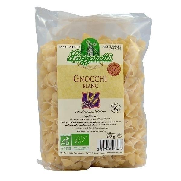 Lazzaretti - Gnocchis blancs Bio 500g