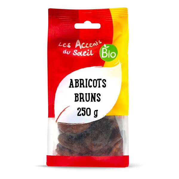 Les Accents du Soleil - Abricots secs bruns 250g