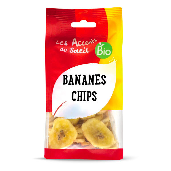 Les Accents du Soleil - Banane chips 100g