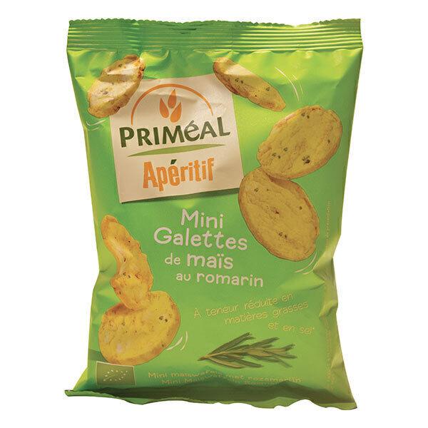 Priméal - Mini galettes de maïs au romarin 50g