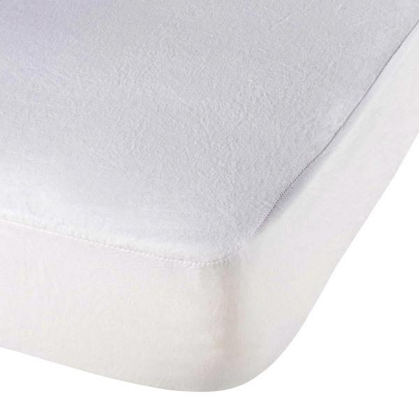 prot ge matelas bambou 60x120cm blanc ptit lit la r f rence bien tre bio b b. Black Bedroom Furniture Sets. Home Design Ideas