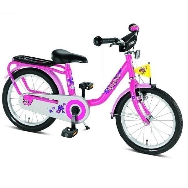 """Puky - Vélo Enfant Z8 18"""" Rose - Dès 5 ans"""