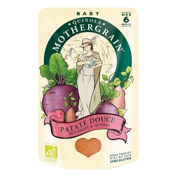 Plat patate douce betterave quinoa bio d s 6 mois 190gr quinola mothergrain acheter sur - Acheter plant de patate douce ...