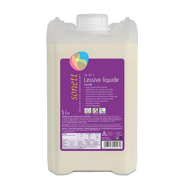 Sonett - Lessive liquide Lavande 5L