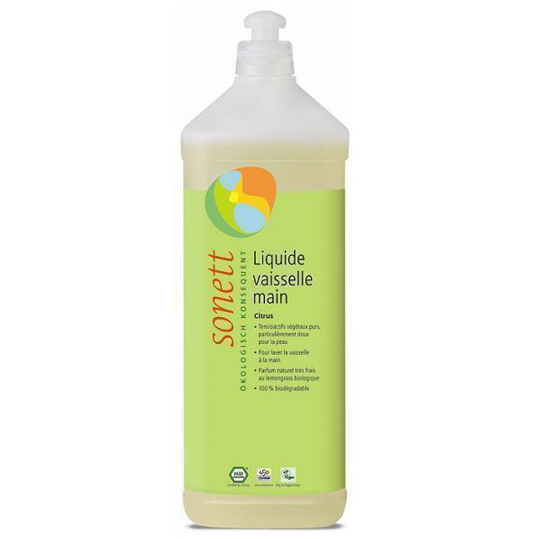 Sonett - Liquide vaisselle mains Citron 1L