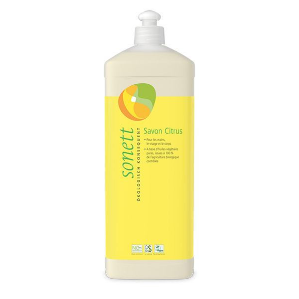Sonett - Savon liquide visage et corps Citron 1L
