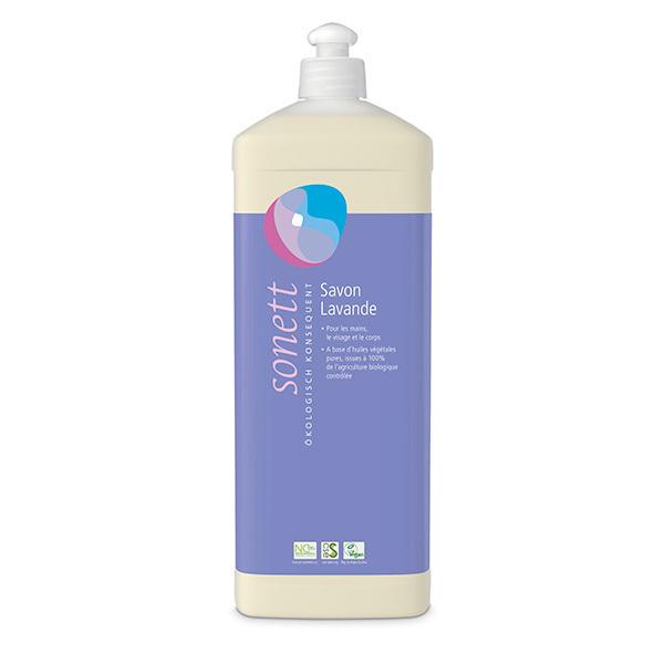 Sonett - Savon liquide visage et corps Lavande 1L