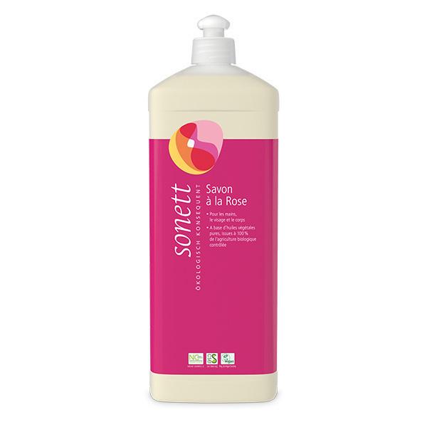 Sonett - Savon liquide visage et corps Rose 1L
