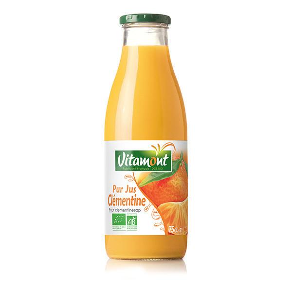 Vitamont - Pur jus de clémentine 75cl