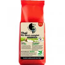Autour du Riz - Riz thaï demi-complet - 500g