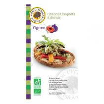 Biscuiterie de Provence - Big organic fig crackers 110g