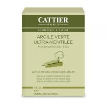 Cattier - Ultra-Ventilated Green Clay 250g