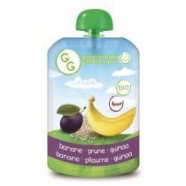 Goodness Gracious - Gourde Purée Banane Prune Quinoa 140g - Dès 4 mois