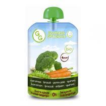 Goodness Gracious - Gourde carottes, brocoli, petits pois et quinoa, 140g