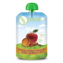 Goodness Gracious - Gourde Purée de Pomme Abricot Cannelle 140g - Dès 4 mois
