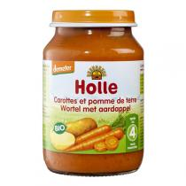 Holle - Petit pot carotte-pomme de terre 190g - Dès 4 mois