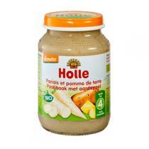Holle - Petit pot panais-pomme de terre 4 mois 190g