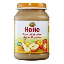 Holle - Petit pot pomme et poire - 190g
