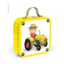 Janod - Puzzles - Le tracteur de Peter