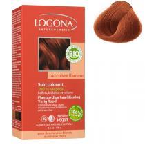 Logona - Pflanzen-Haarfarbe-Pulver - Flammenrot