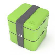 Monbento - MB Square grün - Bento-Box
