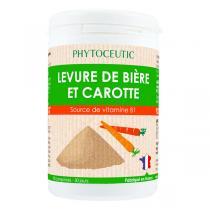 Phytoceutic - Levure de bière et carotte 90 comprimés