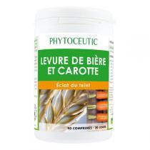 Phytoceutic - Levure de Bière et Carotte 90 Comp.
